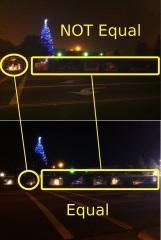 lights at Travis AFB