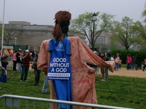 Reason Rally 2012 - Jesus is good without God