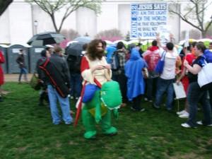 Reason Rally 2012 - Dino Jesus